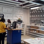 Reamenajarea Departamentelor Markethall, Self-Serve, Cash line și Sweden Shop la magazinul IKEA Paris, Franța